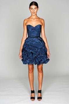 Monique Lhuillier Resort 2011 Fashion Show