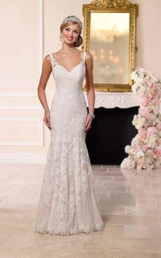 Stella York wedding gown style 6247 available at Carrie Karibo Bridal Cincinnati, Ohio www.carriekaribobridal.com