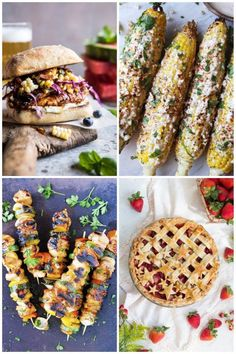 The temperatures are toasty, the rosé is stocked, and come Tuesday we'll celebrate America's independence the best way we Americans know how: with lots and lots of food! Okay, so there's likely to be other festivities, too, like parades and pool parties and fireworks and corn hole, but chances are your grill will be the star of the show. Whether you're hosting for the holiday or just bringing something with you to the bash of your choosing, be sure to plan your menu ahead of time so t
