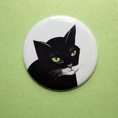 Großer Magnet, 56 mm, Kühlschrankmagnet, Küche, Kinderzimmer, Katze, stuudio von stuudio auf Etsy