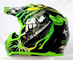 Masei 315 M Plus Motocross ATV DOT Dirtbike Helmet GREEN L XL