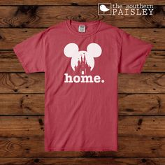 This Disney Home Short Sleeve Shirt is Perfect for the Disney Parks