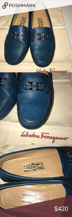 Salvatore ferragamo Saba loafer 6.5M Saba loafer in Gommini Morsetto! Great condition. Only small very faint flaw is the left front shoe. You can see in pics. So minimal. Does not affect shoe or wear/ look AT ALL Salvatore Ferragamo Shoes Flats & Loafers