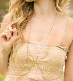 Trio Wing Brass Necklace | Jewelry Necklaces | Poisonberry | Scoutmob Shoppe | Product Detail