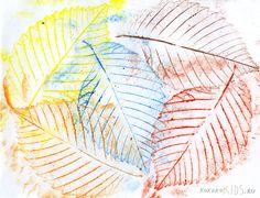 Crafts for Kids: Leaf Art