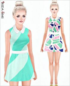 Dress 31-I by Irida - Sims 3 Downloads CC Caboodle
