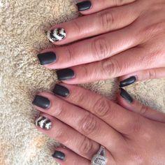 Gel manicure nails
