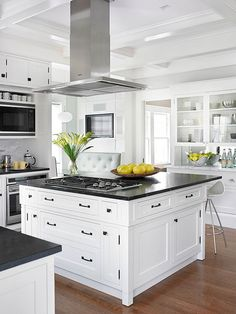 Many of today's kitchens are assigning furniture duties to cabinetry. Some pieces are freestanding, but others simply appear to be, emulating the look of china hutches, turned-leg tables, and buffets.