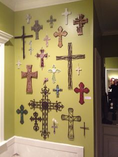 I want to start a cross wall - maybe one at home and one at the office...