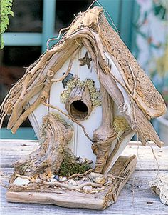 Unique Driftwood Birdhouses   Projects, tips, inspriation & creative ideas