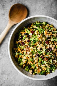 Vegan Curried Broccoli Chickpea Salad