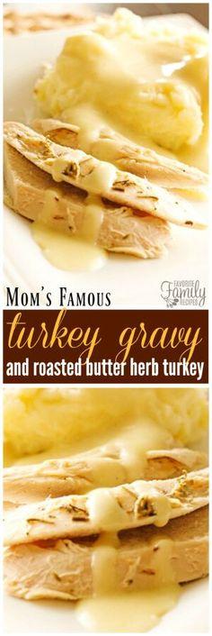Moms Famous Turkey Gravy Recipe