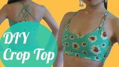 DIY Crop Top for dance practice, yoga, and workout! - SPARKLY BELLY