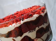 Red Velvet Trifle   Fat Girl Trapped in a Skinny Body