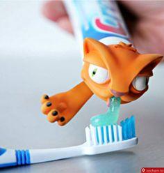 Kocham.to - Nakładka na pastę do zębów