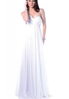 bd8a6afee5 Zipper Applique One Shoulder Chiffon Prom Dress