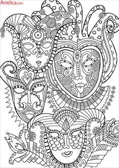 Сложные раскраски для взрослых антистресс скачать, картинки для раскрашивания узоры, животные, сказочный город, цветы, орнаменты распечатать