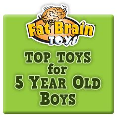 Top Toy Picks for 5 Year Old Boys