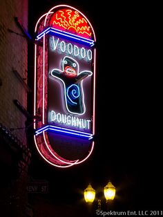 Voodoo donuts... pretty cool place, but I've had better donuts elsewhere. Nothing Special.