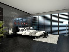 3D Photorealistic Render of a Guest Bedroom