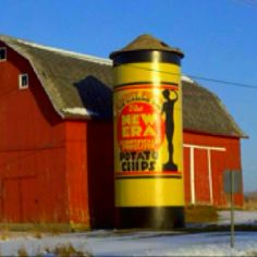 A great looking Michigan barn