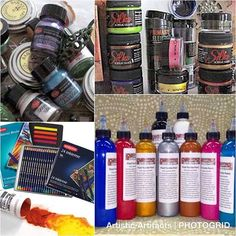 We carry a full range of paint, mediums and tools for fiber & mixed media art at Artistic Artifacts Fabric Painting, Medium Art, Mixed Media Art, Whiskey Bottle, Fiber, Range, Tools, Artist, Painting On Fabric