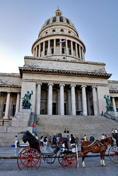 Cuban Capitol in Havana, Ciudad de la Habana, Cuba