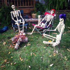 Poseable skeletons