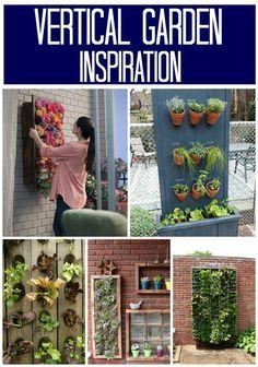 Decor And The Dog: Vertical Garden Inspiration { Part 1: #
