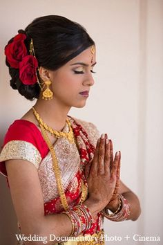 indian wedding portraits bride makeup hair http://maharaniweddings.com/gallery/photo/12885