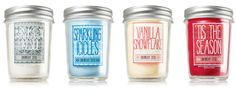 Bath & Body Works Mason Jar Candles