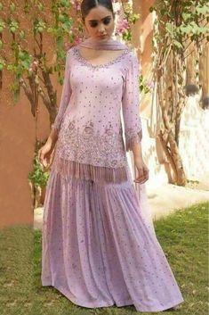 Sharara - the emotion of feminine - looks @ classy and vibrant