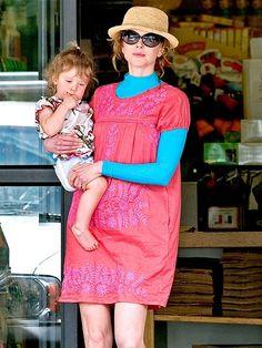 Nicole Kidman & daughter