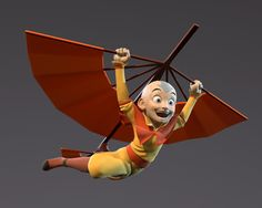 ArtStation - Avatar Aang, Alexandre Proulx Audy