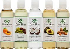 This is a great way to try out several carrier oils!! You get 5 great carrier oils to use in essential oil roller-bottle blends as well as all kinds of natural diy projects like face serums, lotions, balms, salves, and more!  Includes Apricot Kernel Oil, Sweet Almond Oil, Fractionated Coconut Oil, Grapeseed Oil, and Avocado Oil.  click image for info on where to buy