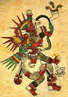 Quetzalcoatl, la serpiente emplumada