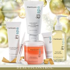 Give the gift of #manicure in the comfort of your own home! #BeautiControl BC Spa Manicure Collection is hands down the perfect stocking stuffer! www.beautipage.com/victoriabishop