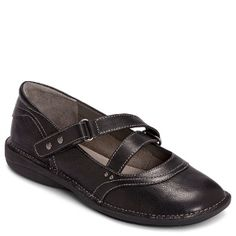 Women's Aerosoles Tuck N Roll - Black Leather