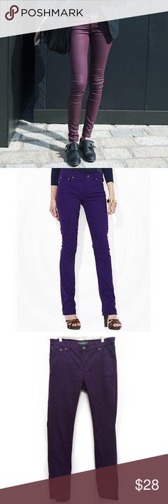 LRL 💜 Slim Deep Lilac Jeans LRL Modern Straight Purple Jeans. ☁️ Slimming, straight fit jeans in stylish purple to flatter any shape. Channel your inner model-off-duty with this alternate to blue // US size 6 // Lauren Ralph Lauren. Note: cover image only for style inspiration. Pre-owned and in excellent condition! Price as marked or best offer:) Lauren Ralph Lauren Jeans Straight Leg