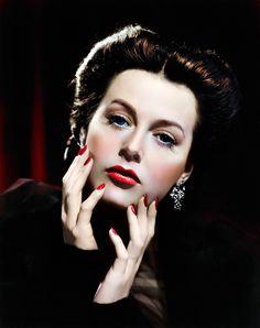 Hedy Lamarr, 1942.