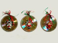 Decoracao-de-Natal-com-Reciclagem-de-CD-artesanato10