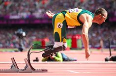 When the Olympics come to an end this photo of South Africa's Oscar Pistorius will have to be considered as one of the greatest moments captured at the London 2012 Games.Photo: Jed Jacobsohn/NYT
