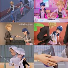 Meraculous Ladybug, Ladybug Comics, Adrien Miraculous, Cartoon Ships, Miraculous Ladybug Funny, Cute Stories, Disney Memes, Funny Texts, Mlb