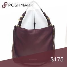 MICHAEL KORS Hobo Maroon authentic Michael Kors Hobo with extra strap.  Great condition!! MICHAEL Michael Kors Bags Hobos