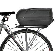 Onda Edge - Hard Shell Bicycle Trunk Bicycle Accessories, Accessories Store, Bike Panniers, Mens Frames, Bicycle Basket, Mini Bike, Custom Bikes, Shells, Trunks