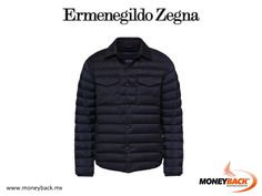MONEYBACK MEXICO. This padded shirt is ideal for this cold season. In addition, it can be worn in many occasions. Ermenegildo Zegna is the world leader in men's luxury clothing, accessories and fragrances. Shop in Mexico and come to Moneyback to receive a tax refund! #moneyback www.moneyback.mx