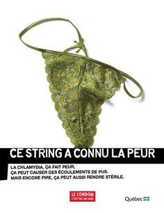 condom (santé sexuelle, humour, Québec, gouvernement). Agence: Cossette
