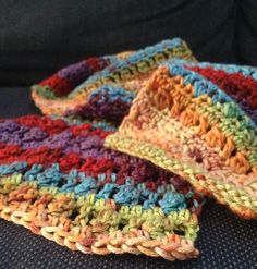 Cluster Stitch Scarf Pattern