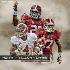 Yeldon-4 Henry-27 Drake-17