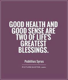 #HealthIsWealth